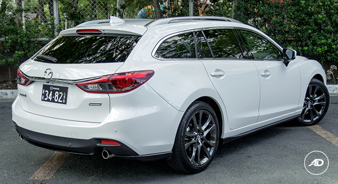 Mazda 6 Sports Wagon 2.5 SkyActiv G AT
