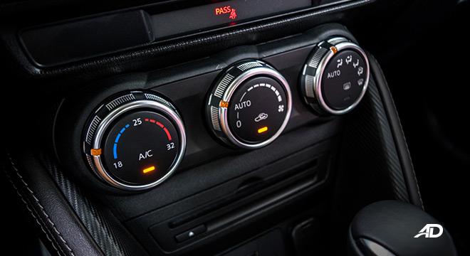 mazda2 hatchback premium road test interior climate control