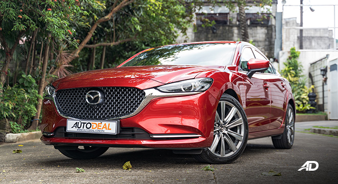 mazda6 sedan turbo road test exterior front philippines