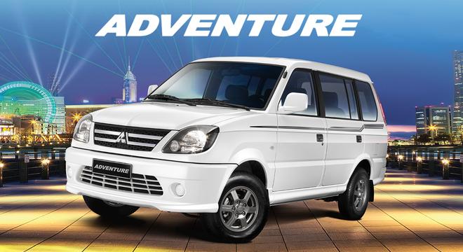 Mitsubishi Adventure GLX 2018 brand new