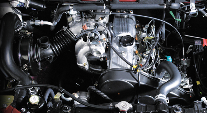 Mitsubishi Adventure GLX 2018 engine