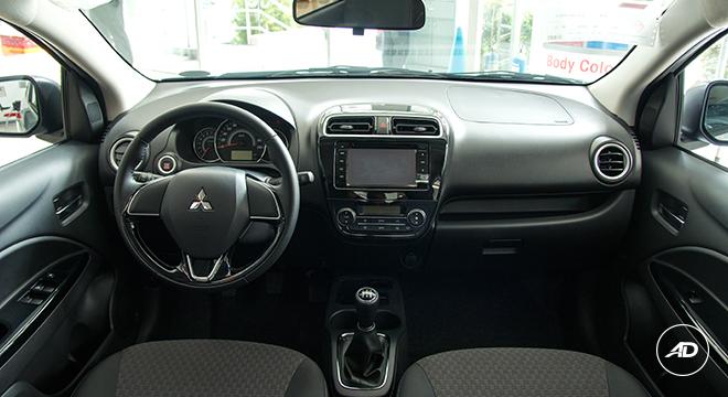 Mitsubishi Mirage GLS 2018 interior