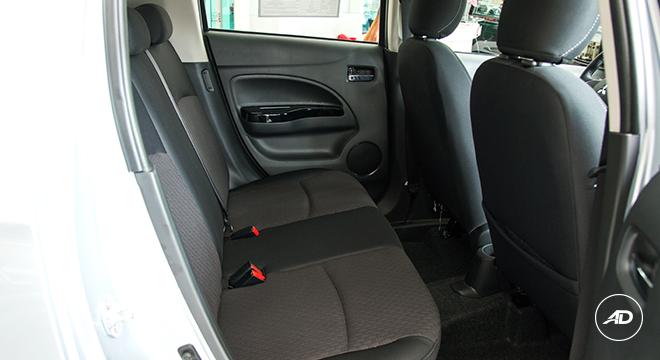 Mitsubishi Mirage GLS 2018 seats