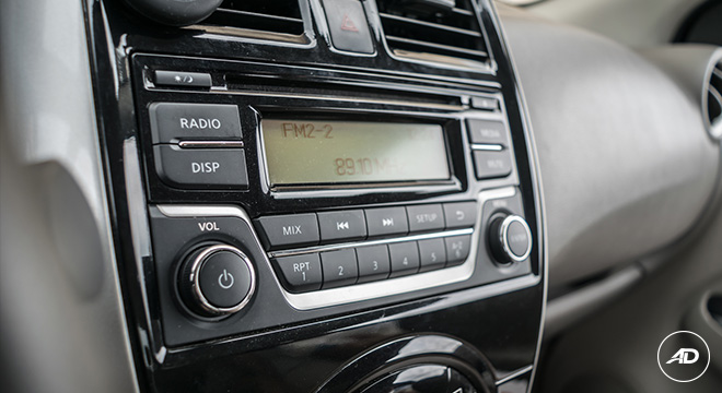 Nissan Almera 1.5 VL AT 2018 Philippines infotainment