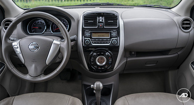 Nissan Almera 1.5 VL AT 2018 Philippines interior