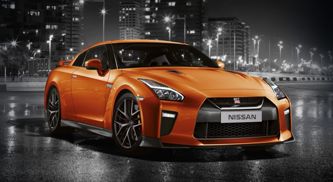 Nissan GT-R 3.8 V6 AT