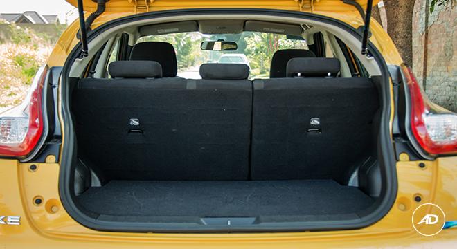 Nissan Juke 1.6 Upper CVT 2018 trunk