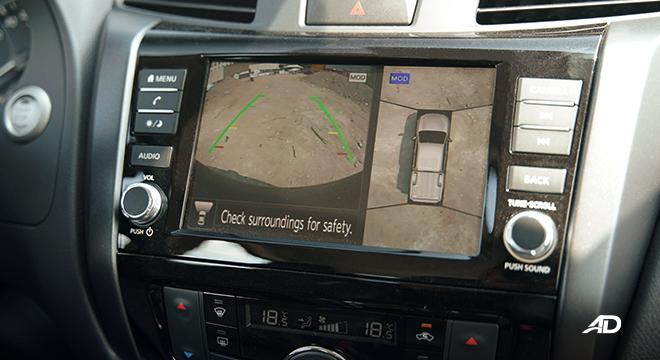 Nissan Navara PRO-4X 360-degree cam