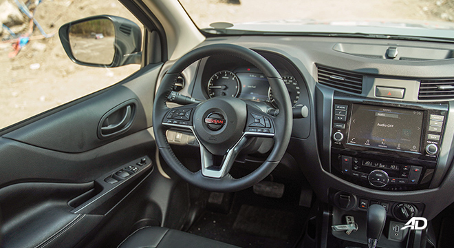 Nissan Navara PRO-4X driver's seat
