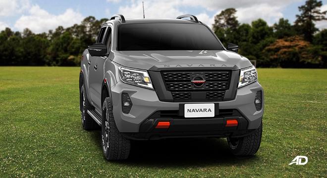 Nissan Navara PRO-4X front angle left