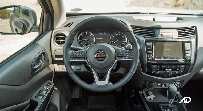 Nissan Navara PRO-4X steering wheel