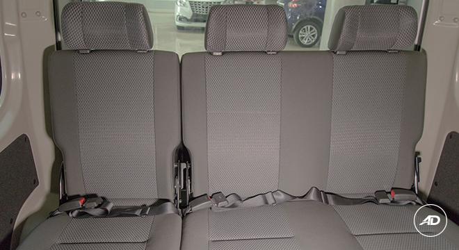 Nissan NV350 Urvan Escapade 12-Seater 2018 rear seats