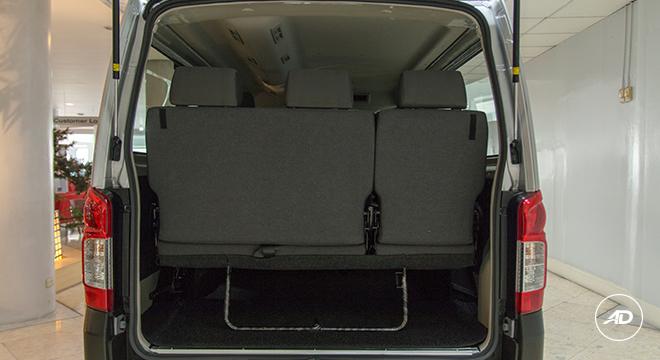Nissan NV350 Urvan Escapade 12-Seater 2018 rear seats up