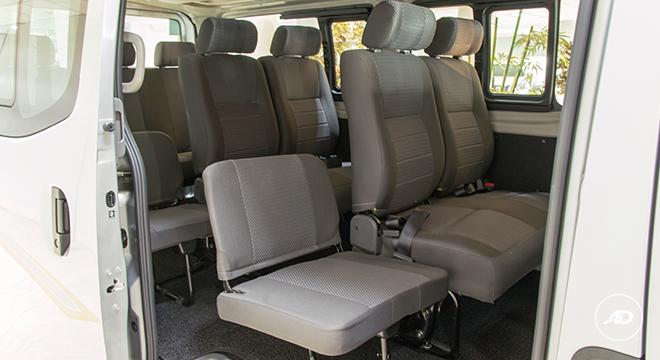 Nissan NV350 Urvan Escapade 12-Seater 2018 seats