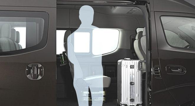 ebb4d2e5f7 Nissan NV350 Urvan Premium 2018 cabin