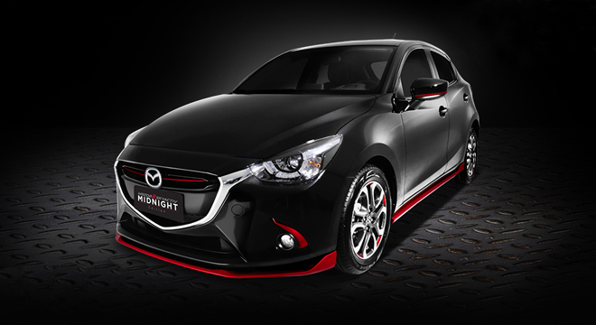 Mazda 2 Hatchback 1.5L Skyactiv Midnight Edition