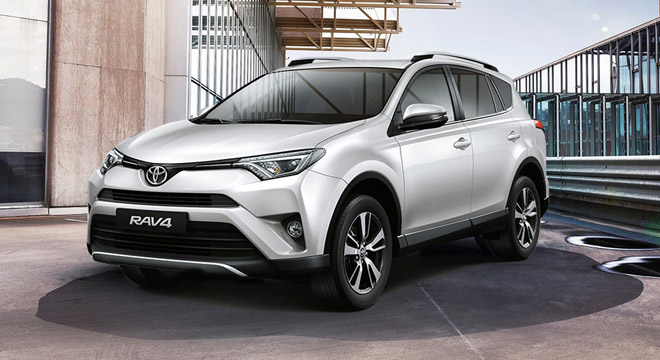 Toyota Rav4 2.5 Active 4x2 AT White Pearl