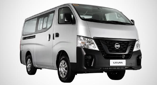 Nissan NV350 Urvan Shuttle 15-seater