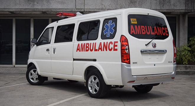 BAIC MZ45 Ambulance