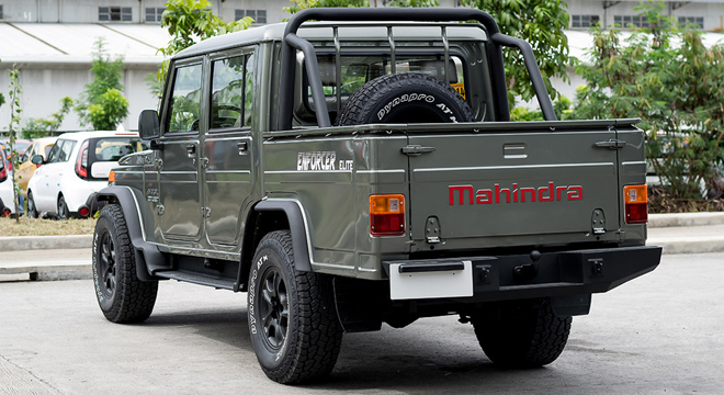 Mahindra Enforcer Double Cab 4x2 Floodbuster Copy