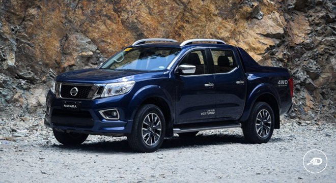nissan navara 4x4 vl sport edition at 2018 philippines price specs autodeal. Black Bedroom Furniture Sets. Home Design Ideas