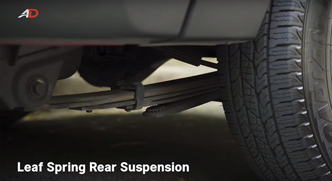 Ssangyong musso grand road test rear suspension