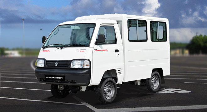 Suzuki Super Carry Dimensions