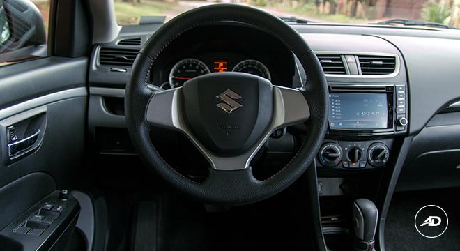 Suzuki Swift 2018 steering wheel