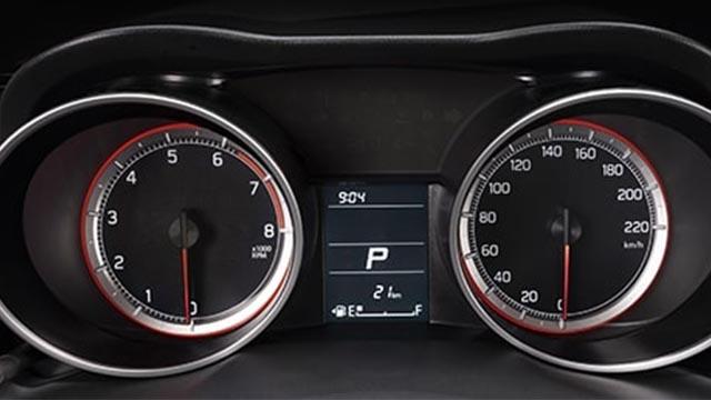 Suzuki Swift gauge cluster