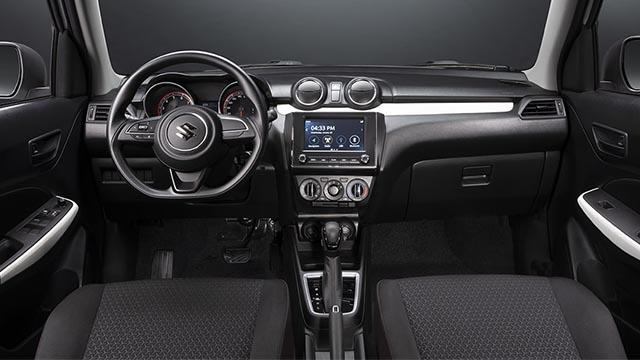 Suzuki Swift interior dash