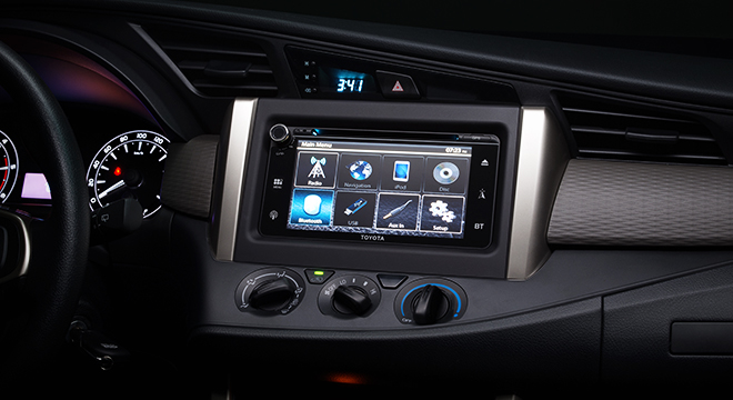 Toyota Innova 2.8 Touring Sport Diesel AT 2018 Philippines infotainment