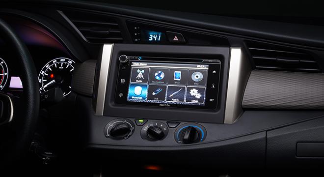 Toyota Innova 2.8 Touring Sport Diesel MT 2018 Philippines infotainment