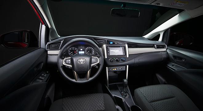 Toyota Innova 2.8 Touring Sport Diesel MT 2018 Philippines interior