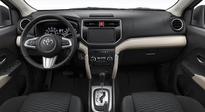 Toyota Rush 2018 1.5 E dashboard