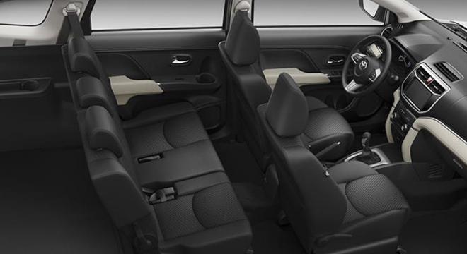 Toyota Rush 2018 1.5 E interior