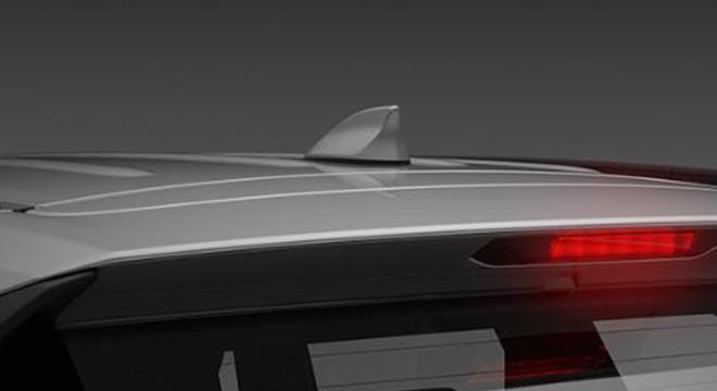 Toyota Rush 2018 1.5 E MT fin antenna