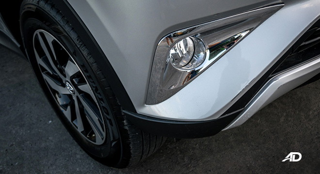 toyota rush road test exterior fog lights