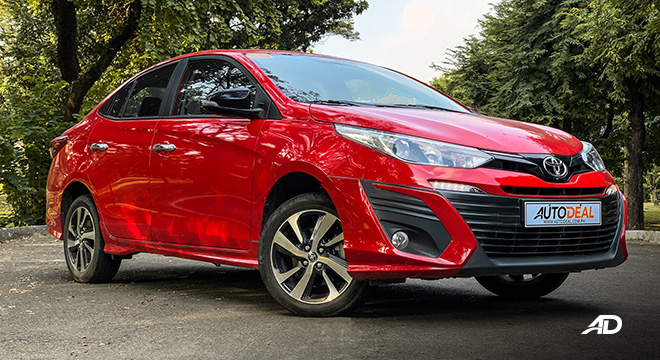 toyota vios 1.5 g prime road test beauty shot exterior philippines