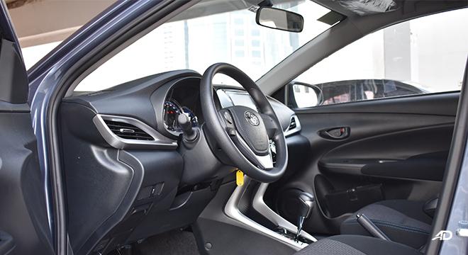 Toyota Vios XLE drivers seat
