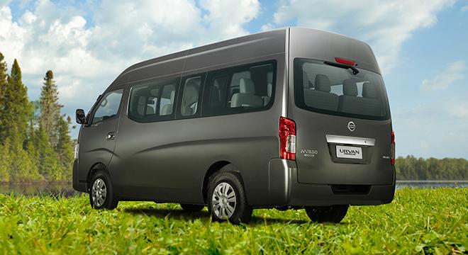 Urvan Premium rear quarter
