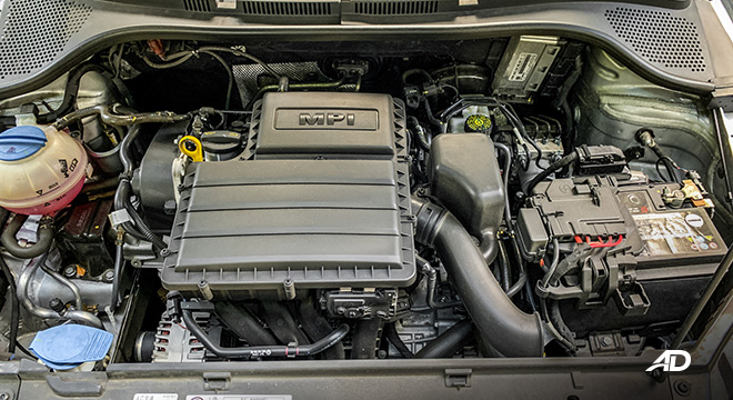 volkswagen santana road test engine