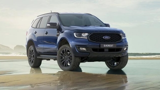 2020 Ford Everest Sport Deep Crystal Blue