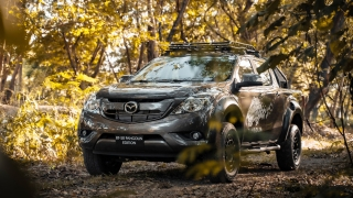2020 Mazda BT-50 Pangolin Exterior Front quarter Philippines