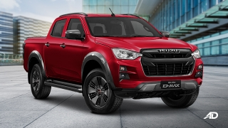 2021 Isuzu D-Max 3.0 4X2 LS-A AT exterior quarter front Philippines