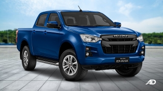2021 Isuzu D-Max RZ4E 4X2 LS AT exterior quarter front Philippines