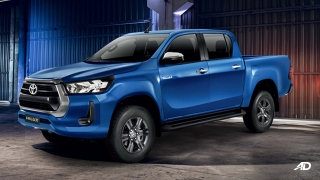 2021 Toyota Hilux G AT exterior side Philippines