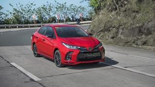 2021 Toyota Vios GR-S exterior quarter front Philippines