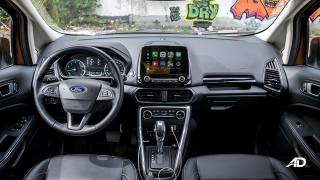 ford ecosport titanium road test interior philippines