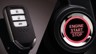 Honda City 1.5 VX+ NAVI CVT 2018 push start button