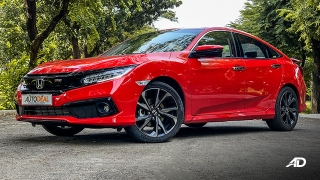 honda civic road test exterior front beauty philippines
